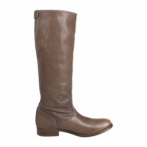 Frye Melissa Button Back Zip Up Full Boots
